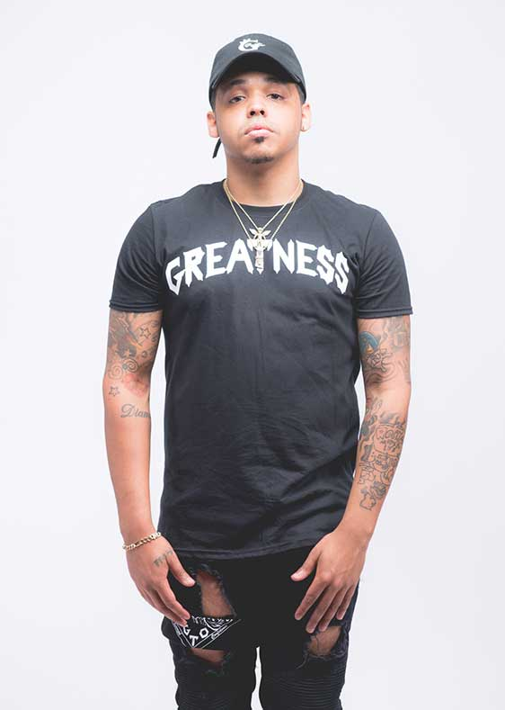 Black-Greatness-Tee-front